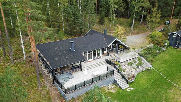 Laukonranta vuokrahuvila Puumala Saimaa